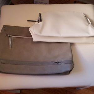 Lancome makeup bags set of 2